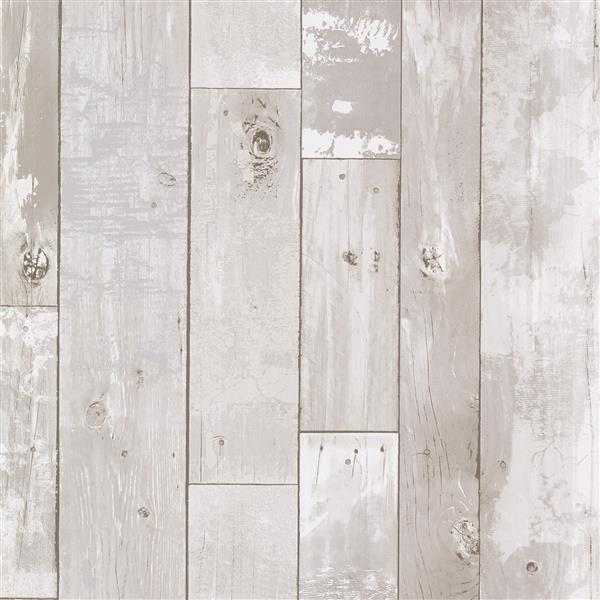 brewster wallcovering heim white distressed wood panel unpasted wallpaper