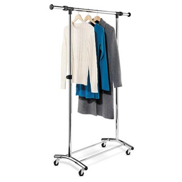 honey can do gar 01123 commercial garment rack chrome gar 0