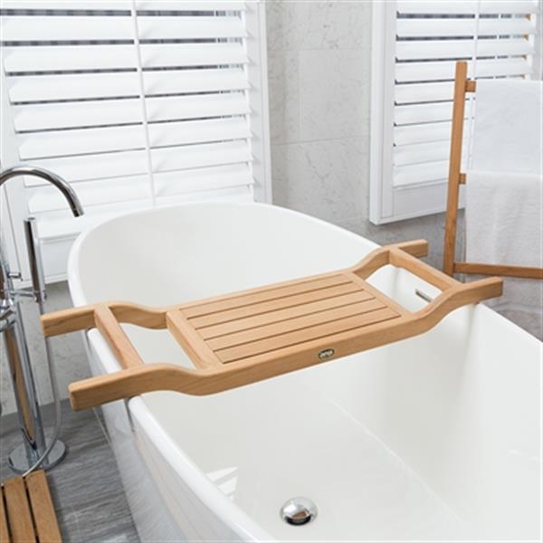 plateau siege de baignoire coach 34 5 teck bois naturel