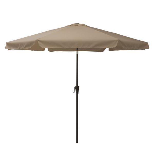 https www rona ca en corliving tilt g patio umbrella sandy brown ppu 220 u 330608065