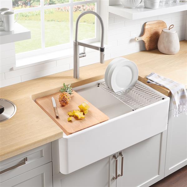 blanco profina farmhouse sink 36 in white