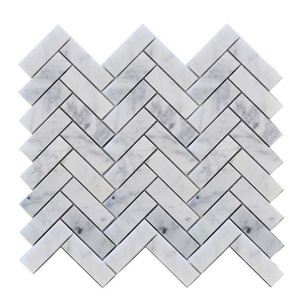 jl tile backsplash tile 12 5 in x 11 6 in stone white grey 10 pack