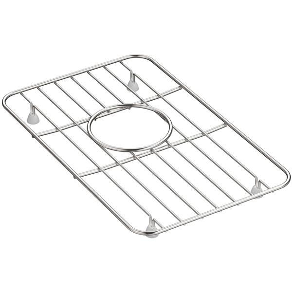 kohler whitehaven sink rack 9 1 in stainless steel
