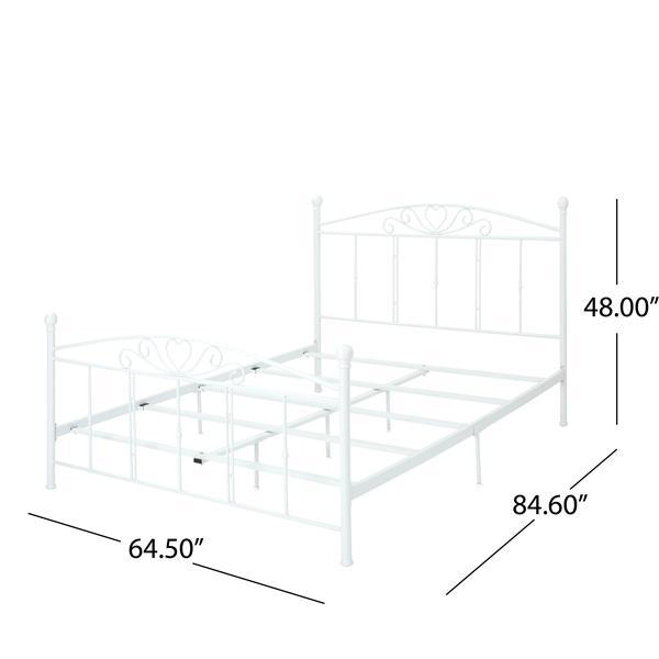 base de lit bolton classical de best selling home decor grand lit fer forge blanc