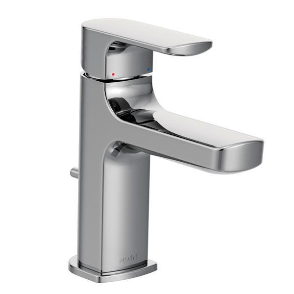 moen rizon bathroom faucet 1 handle chrome