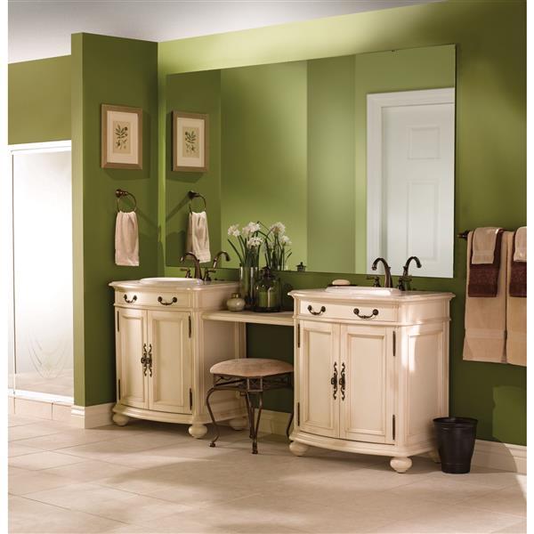 moen kingsley bathroom faucet 2 handle oil rubbed bronze valve sold separately