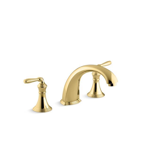 robinet de baignoire devonshire de kohler laiton brosse