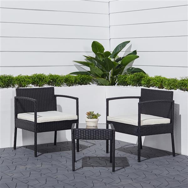 ensemble de chaises et table en rotin tierra de vifah 3 mcx