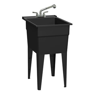westinghouse laundry sink with cabinet
