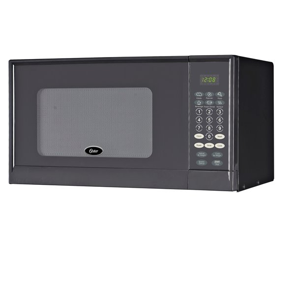 oster microwave black 0 9 cu ft 900 w