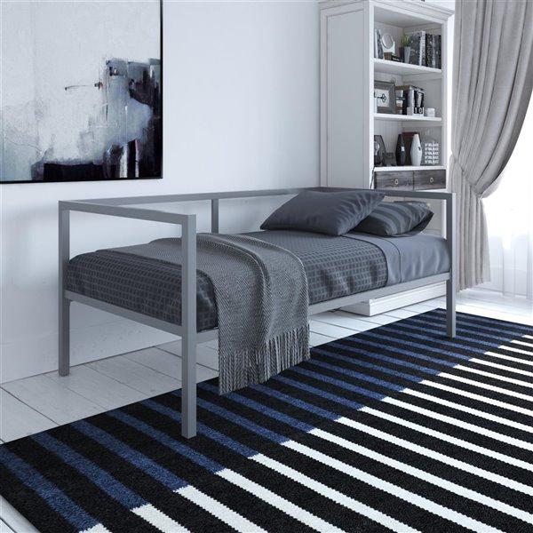 canape lit avec rangement mid century modern de dhp