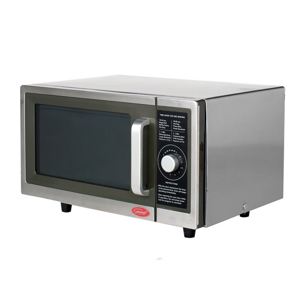 general commercial microwave 1 cu ft 1 000 watts stainless steel