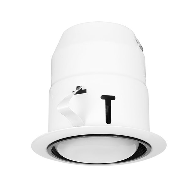 nadair led indoor outdoor recessed lights 6 in white