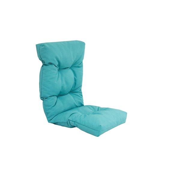 bozanto inc high back patio chair cushion light blue