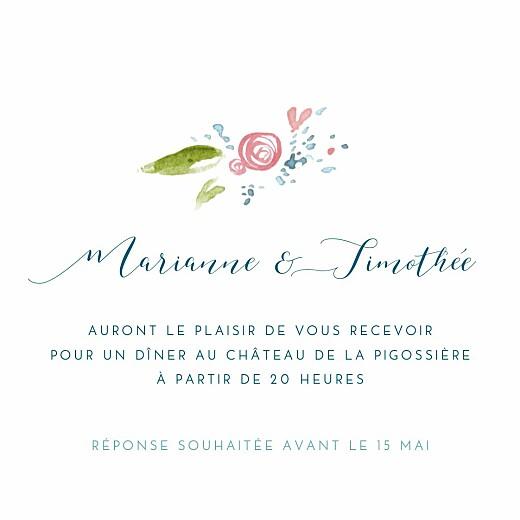 carton d invitation mariage journee de printemps