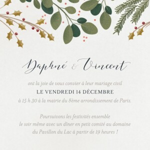 cartons d invitation mariage