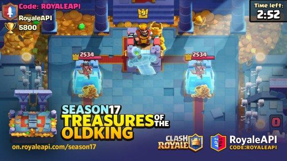 Clash Royale Temporada 17 Royal Tomb Arena