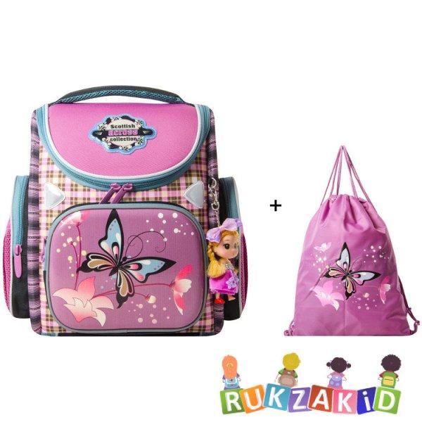 Купить портфель трансформер школьный с бабочкой across 197 ...