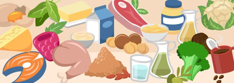 examples of low-carb, ketogenic food