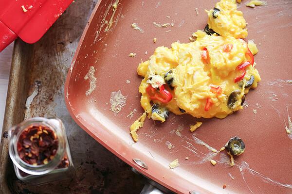 Mini Pizza Egg Bakes