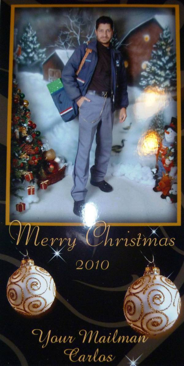 Mailman 25 Depressing Family Christmas Cards Complex