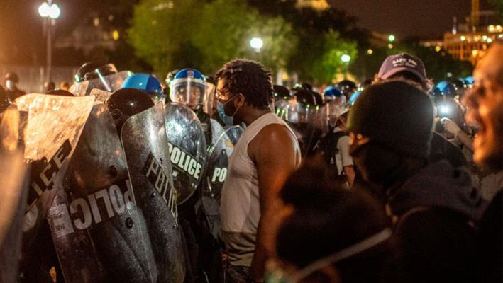 US Protests Erupt After Cop Charged In George Floyd Death ...