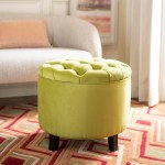 Hud8220s Ottomans Furniture By Safavieh