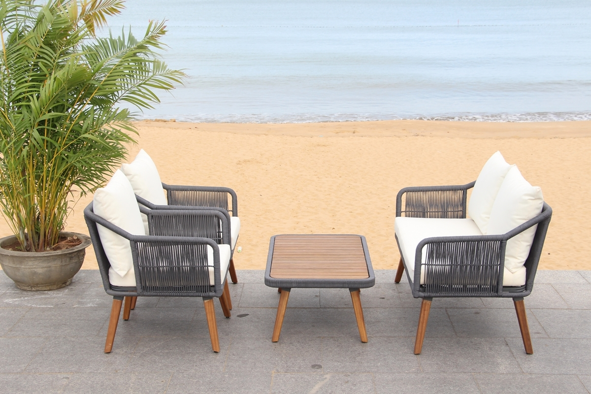 PAT7049A Patio Sets - 4 Piece - Furniture by Safavieh on Safavieh Raldin  id=12738