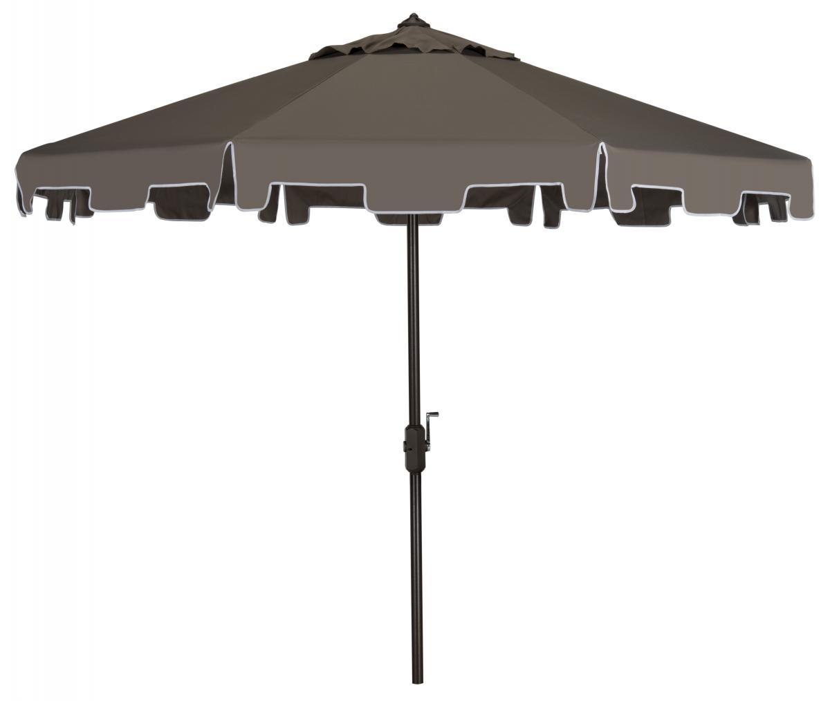 grey patio umbrella outdoor furniture