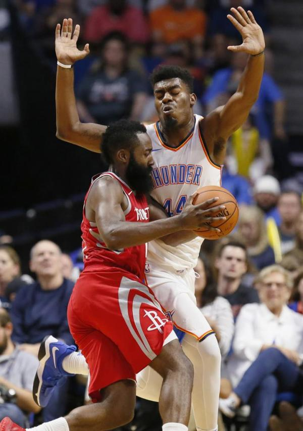 Anthony sharp in OKC debut, Rockets look fine without him ...
