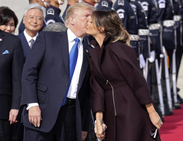 Trump defense of Melania Trump follows presidential ...