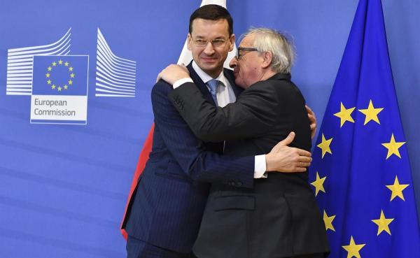 EU, Poland discuss Poland's divisive judicial reform ...