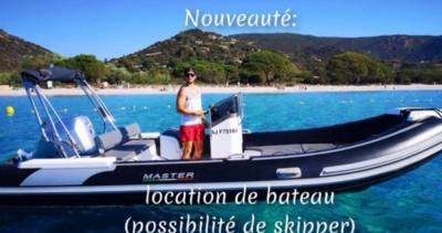 yacht charter porto vecchio france
