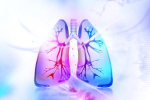 The study says the development of lung macrophages could play a role in the disease