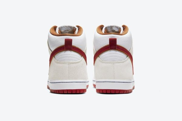 Official Pics: The Nike SB Dunk High with 'Team Crimson ...