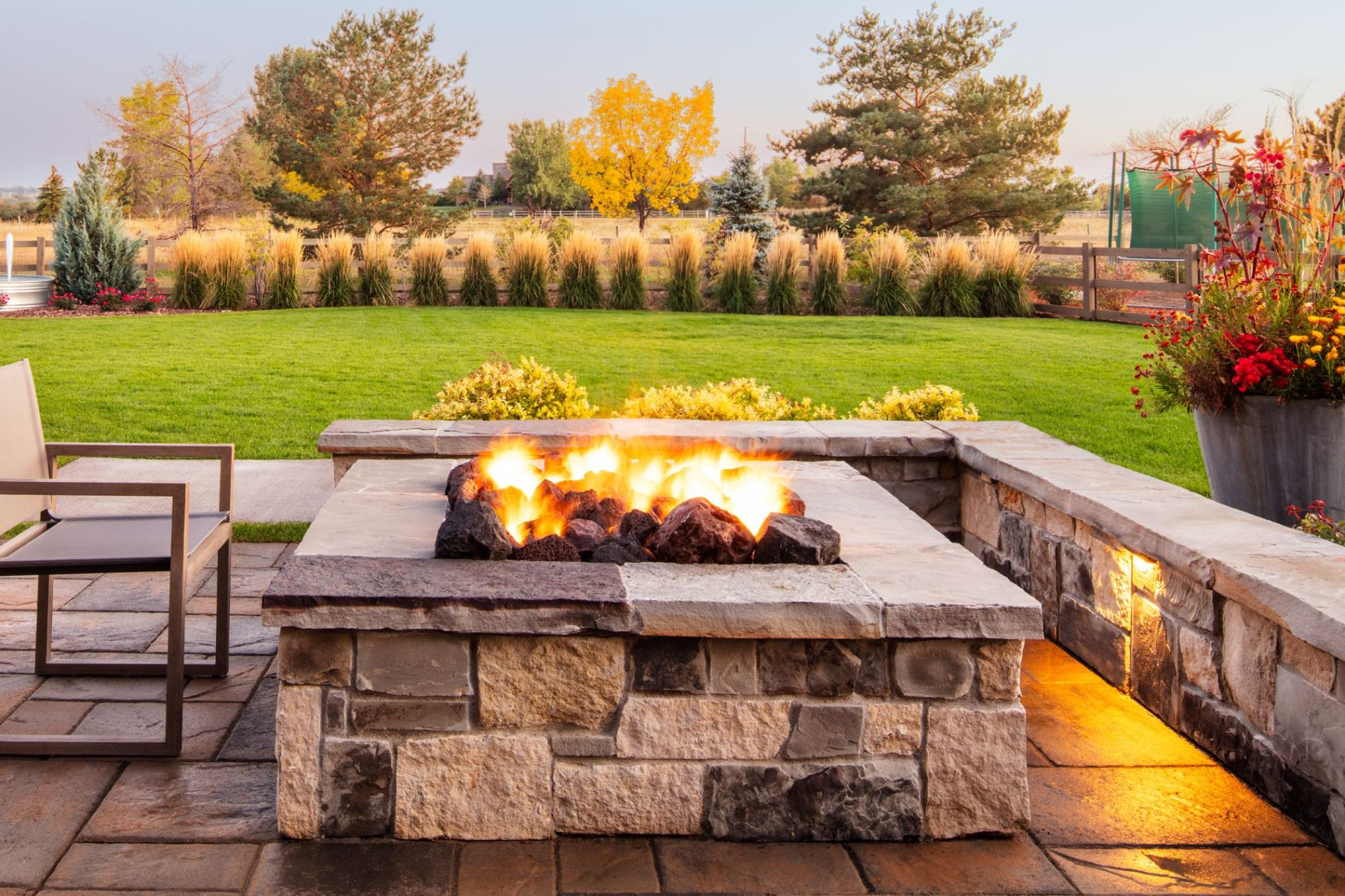 playful custom fire pits in fort