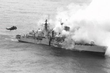 Falklands_War-Sheffield 2/4/1982: Αρχίζει ο πόλεμος των Φόκλαντς