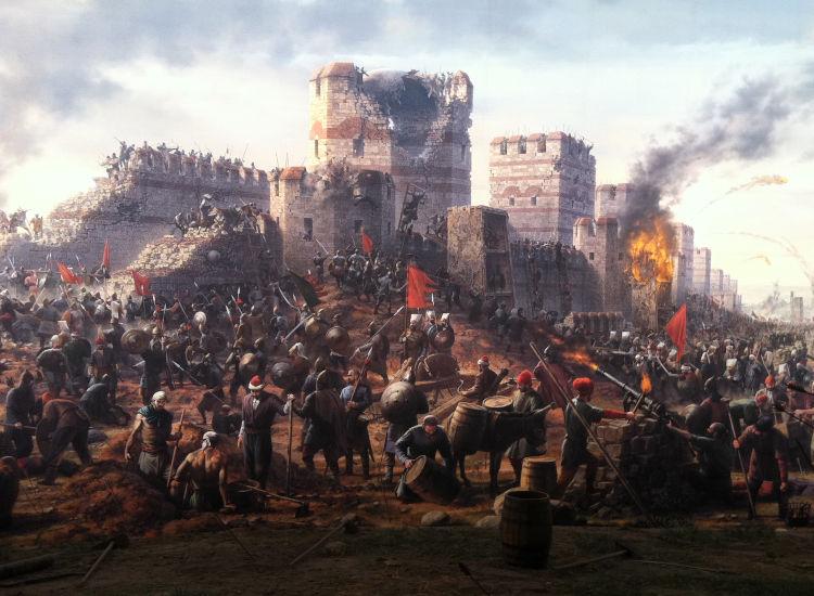 Η Άλωση της Κωνσταντινούπολης - Αφιέρωμα - Σαν Σήμερα .gr