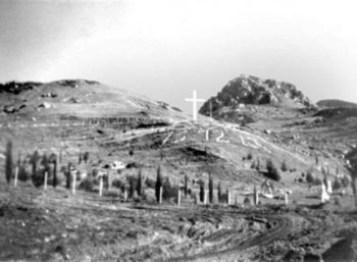 H «Ράχη του Καπή», όπου εκτελέστηκαν 800 Καλαβρυτινοί