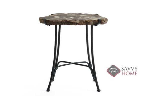 Quick-Ship Petrified Wood Table By Bernhardt Interiors
