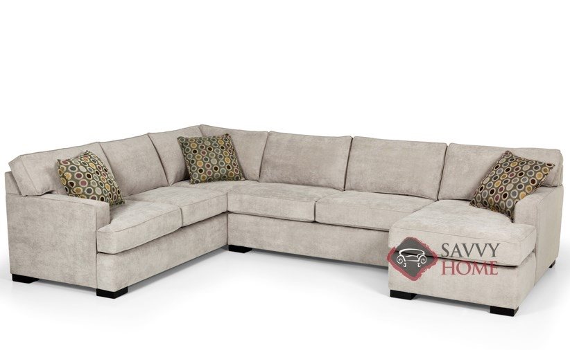 the 146 u shape true sectional sofa bed sofa by stanton