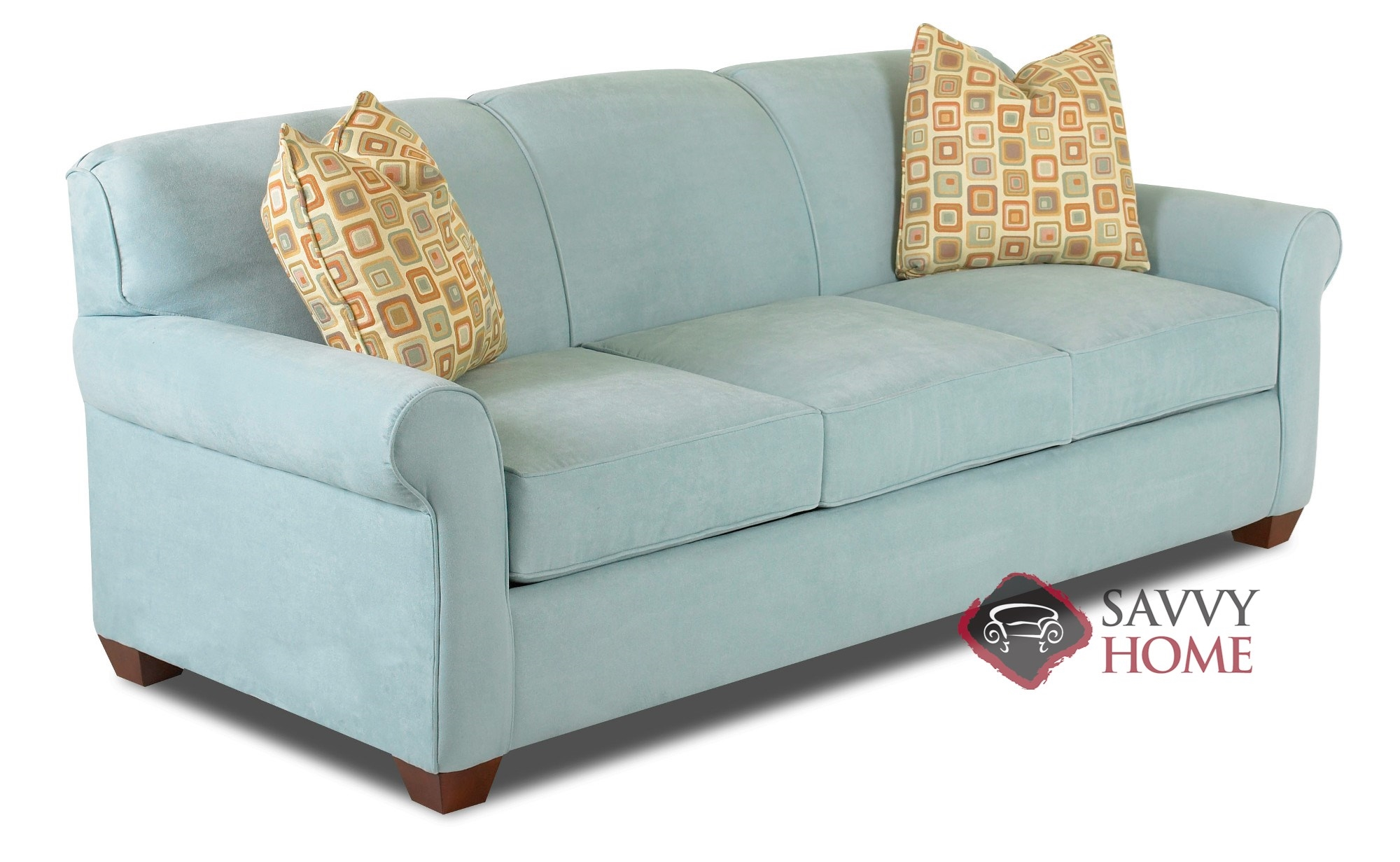 Best Kitchen Gallery: Calgary Fabric Sleeper Sofas Queen By Savvy Is Fully Customizable By of Loveseat Bed  on rachelxblog.com