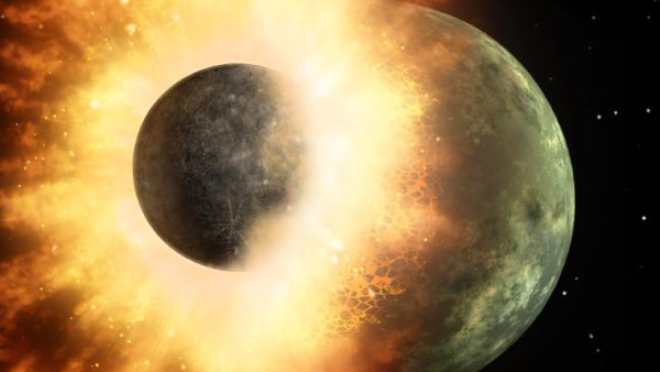 Earths Water was Present before MoonForming Impact