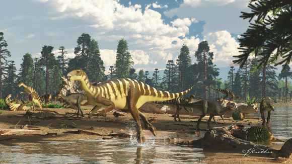 Galleonosaurus dorisae. Image credit: James Kuether.