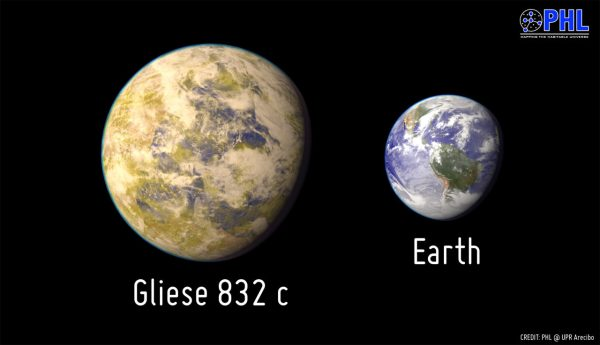 Gliese 832c Potentially Habitable SuperEarth Discovered 16 LightYears Away