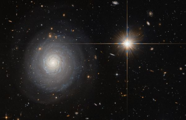 Hubble Spots Lonely Star-Forming Spiral | Astronomy | Sci ...