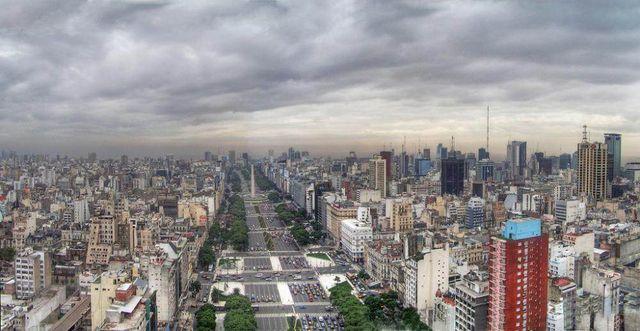 Buenos Argentine La De Monde 9 Julio Large Du La Route Plus Aires
