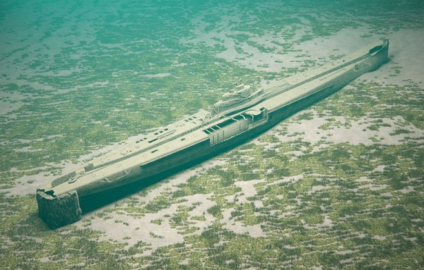 New 3D Virtual Tour of Protected Wreck SM U8 (1911-1915)