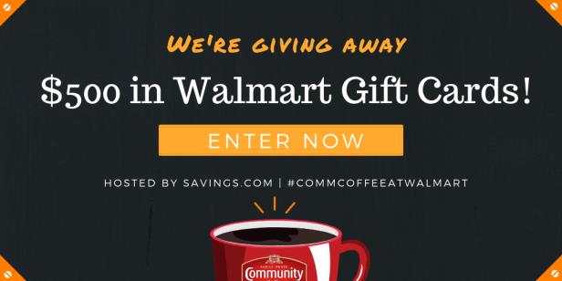 Win a Walmart gift card!