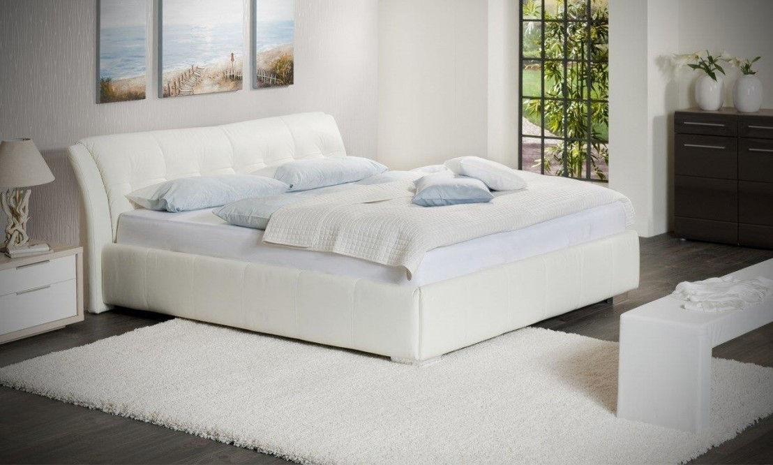 Lit Double Cuir SWEETDREAMS 160 Cm Queen Size
